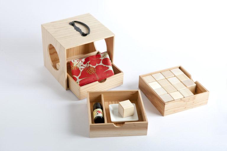 香りの遊山箱 3段