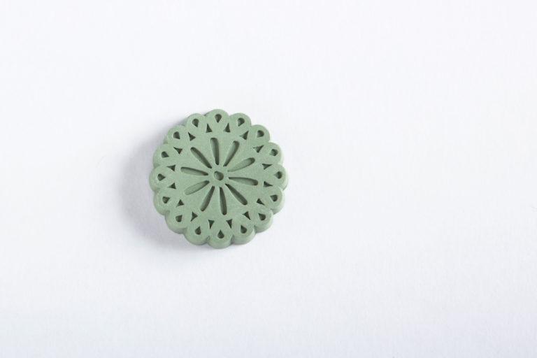 琉球瓦アロマストーン(緑)